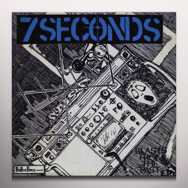 Seven Seconds BLASTS FROM THE PASTS Vinyl Record - Colored Vinyl