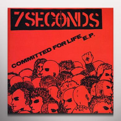 Seven Seconds COMMITTED FOR LIFE Vinyl Record - Colored Vinyl