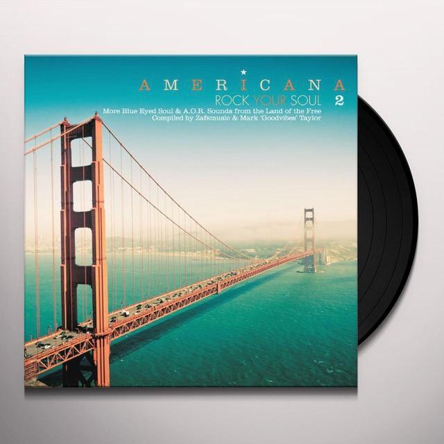 AMERICANA 2: ROCK YOUR SOUL / VARIOUS Vinyl Record - w/CD