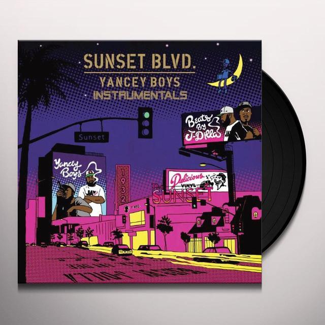 Yancey Boys SUNSET BLVD INSTRUMENTALS Vinyl Record
