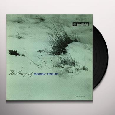SONGS OF BOBBY TROUP Vinyl Record