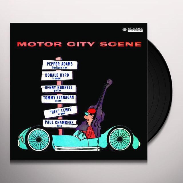 Donald Byrd / Pepper Adams MOTOR CITY SCENE Vinyl Record