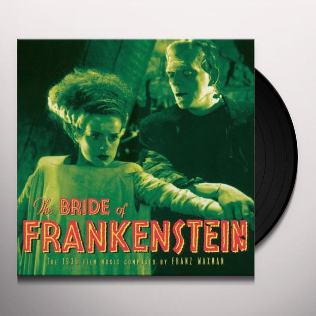 Franz (Ogv) Waxman BRIDE OF FRANKENSTEIN O.S.T. Vinyl Record - 180 Gram Pressing