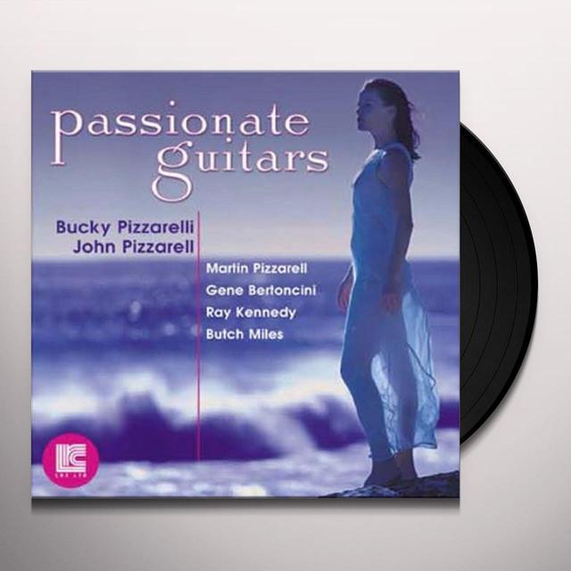Bucky Pizzarelli / John Pizzarelli PASSSIONATE GUITARS Vinyl Record