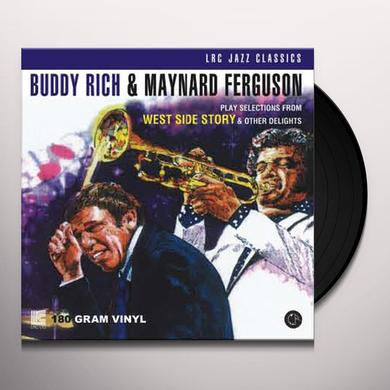 Buddy Rich / Maynard Ferguson PLAY SELECTIONS FROM WEST SIDE STORY & OTHER Vinyl Record - 180 Gram Pressing
