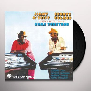 Jimmy Mcgriff / Groove Holmes GIANTS OF THE ORGAN COME TOGETHER Vinyl Record