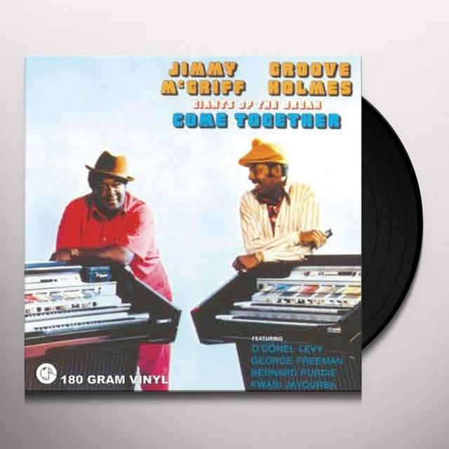 Jimmy Mcgriff / Groove Holmes GIANTS OF THE ORGAN COME TOGETHER Vinyl Record - 180 Gram Pressing