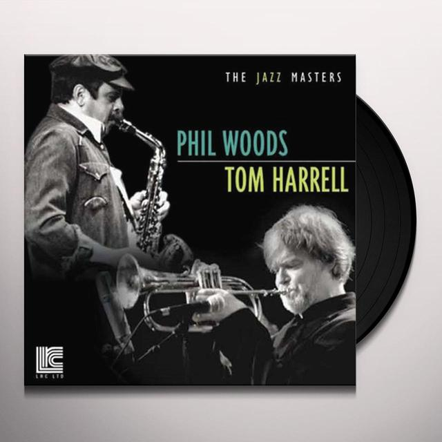 Phil Woods / Tom Harrell JAZZ MASTERS Vinyl Record