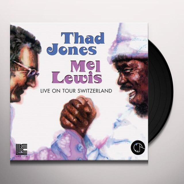Thad Jones / Mel Lewis LIVE ON TOUR: SWITZERLAND 1969 Vinyl Record