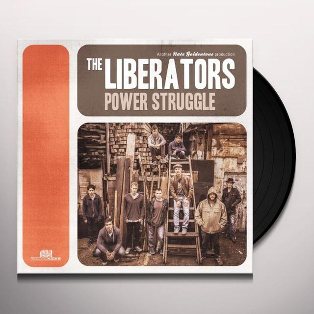 The Liberators POWER STRUGGLE Vinyl Record