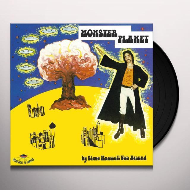 Steve Maxwell MONSTER PLANET Vinyl Record