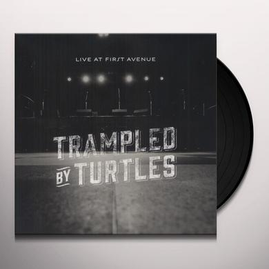 Trampled By Turtles LIVE AT FIRST AVENUE (W/DVD) Vinyl Record - 180 Gram Pressing, Digital Download Included