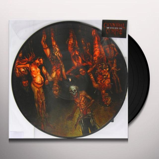 Cannibal Corpse TORTURE Vinyl Record - Picture Disc, Anniversary Edition