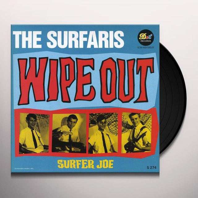 Surfaris WIPE OUT / SURFER JOE Vinyl Record