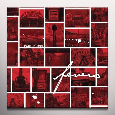 Paul Burch FEVERS Vinyl Record - Colored Vinyl, 180 Gram Pressing, White Vinyl