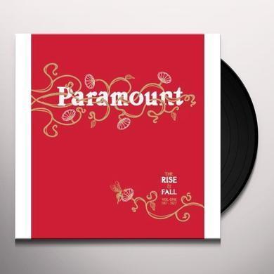 RISE & FALL OF PARAMOUNT RECORDS 1 / VARIOUS Vinyl Record - 180 Gram Pressing