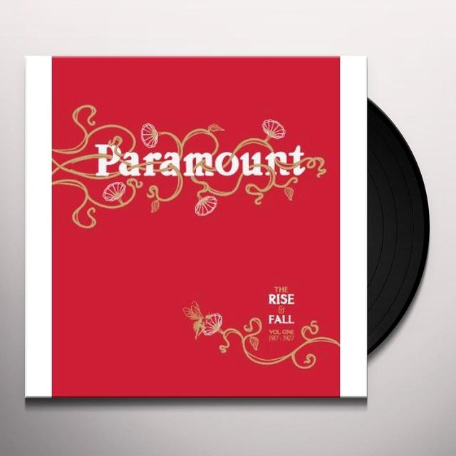 RISE & FALL OF PARAMOUNT RECORDS 1 / VARIOUS Vinyl Record - 180 Gram Pressing