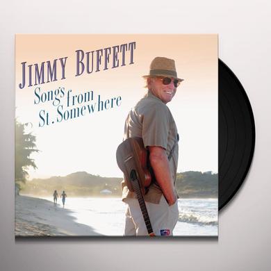 Jimmy Buffett SONGS FROM ST SOMEWHERE Vinyl Record