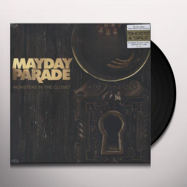 Mayday Parade MONSTERS IN THE CLOSET Vinyl Record