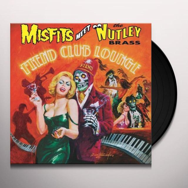 Misfits Meet The Nutley Brass FIEND CLUB LOUNGE Vinyl Record