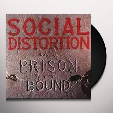 Social Distortion PRISON BOUND: 25 ANNIVERSARY Vinyl Record - Anniversary Edition, 180 Gram Pressing