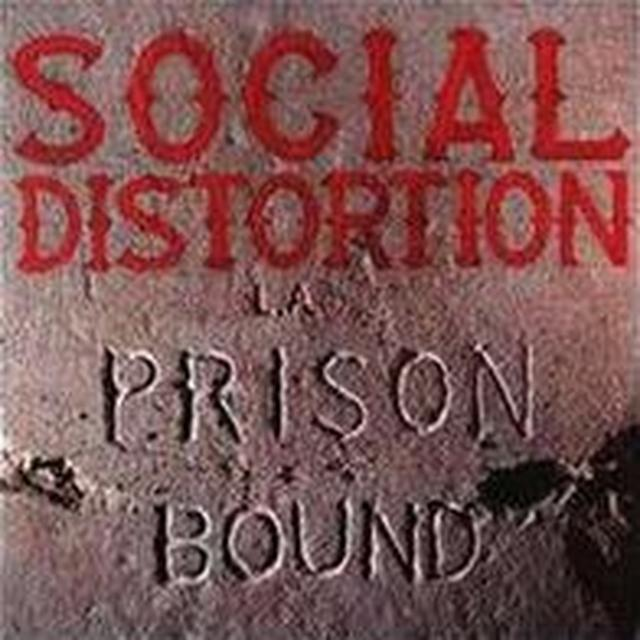 Social Distortion PRISON BOUND: 25 ANNIVERSARY Vinyl Record - Anniversary Edition, 180 Gram Pressing
