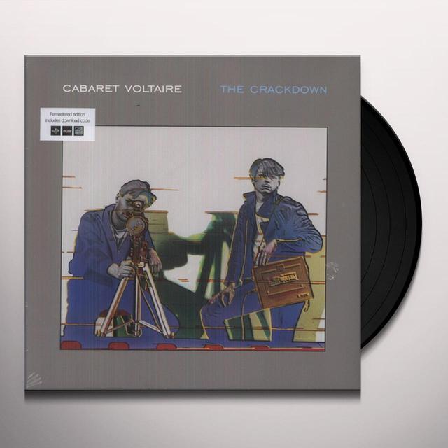 Cabaret Voltaire CRACKDOWN Vinyl Record