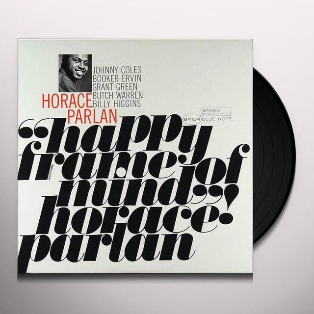 Horace Parlan HAPPY FRAME OF MIND Vinyl Record - 180 Gram Pressing, Reissue