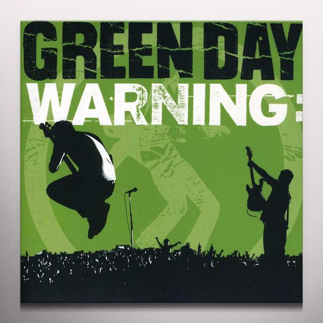 Green Day WARNING EP  (EP) Vinyl Record - Colored Vinyl