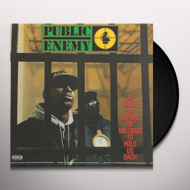 Public Enemy IT TAKES A NATION OF MILLIONS TO HOLD US BACK Vinyl Record