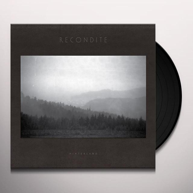 Recondite HINTERLAND Vinyl Record