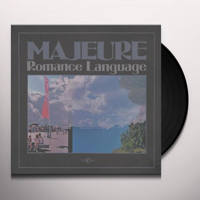 Majeure ROMANCE LANGUAGE Vinyl Record