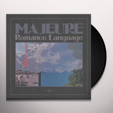 Majeure ROMANCE LANGUAGE Vinyl Record - Digital Download Included