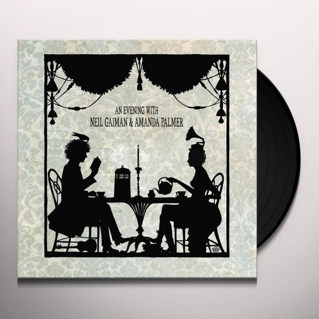 AN EVENING WITH NEIL GAIMAN & AMANDA PALMER Vinyl Record