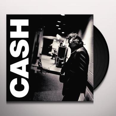 Johnny Cash AMERICAN III: SOLITARY MAN Vinyl Record