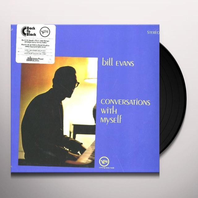 Bill Evans CONVERSATIONS WITH MYSELF Vinyl Record