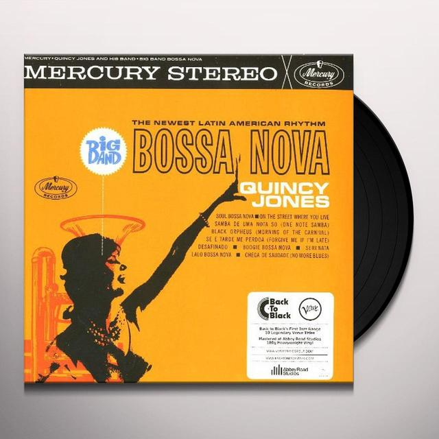 Quincy Jones BIG BAND BOSSA NOVA (Vinyl)