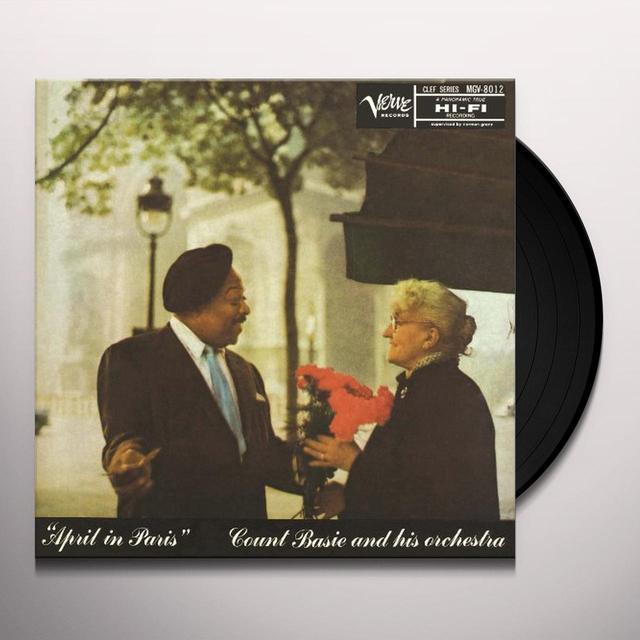 Count Basie APRIL IN PARIS Vinyl Record