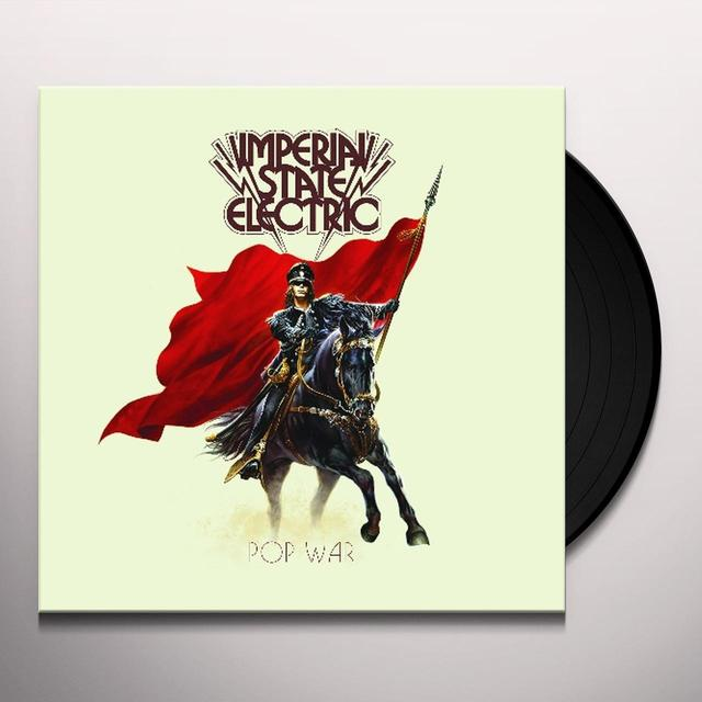 Imperial State Electric POP WAR Vinyl Record - Black Vinyl