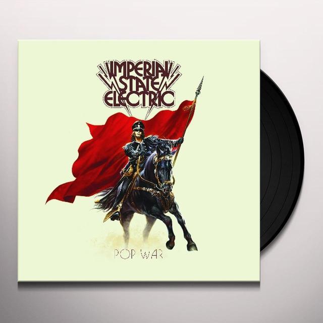 Imperial State Electric POP WAR Vinyl Record - Black Vinyl