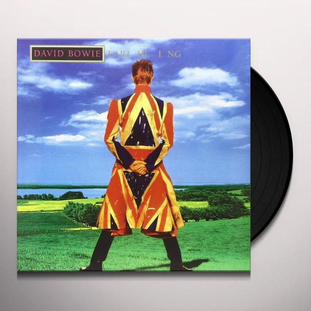 David Bowie EARTHLING Vinyl Record - Holland Import