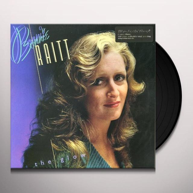 Bonnie Raitt THE GLOW Vinyl Record - 180 Gram Pressing