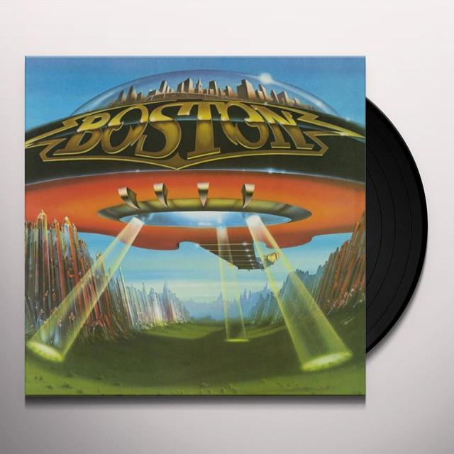 Boston DON'T LOOK BACK Vinyl Record - 180 Gram Pressing