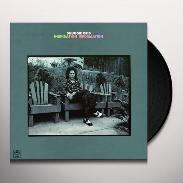 Shuggie Otis INSPIRATION INFORMATION Vinyl Record - 180 Gram Pressing