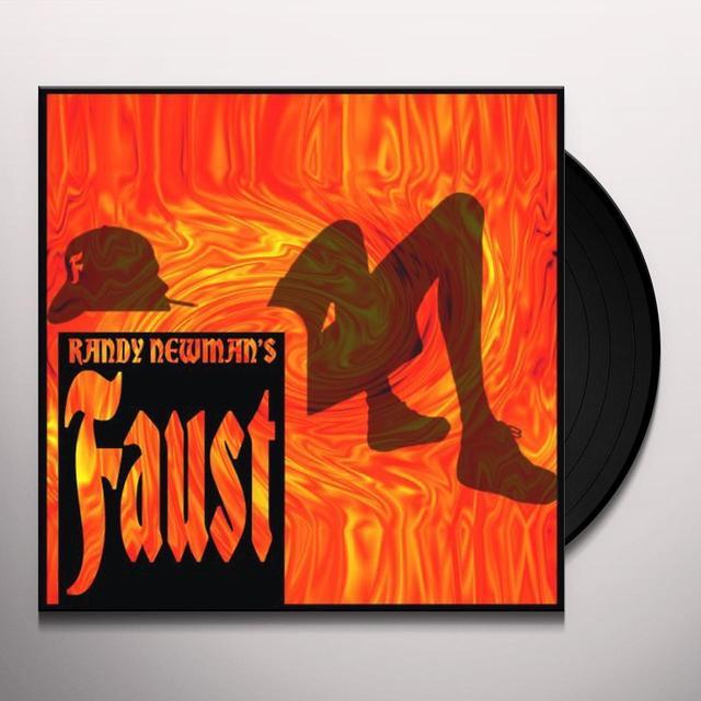 Randy Newman FAUST Vinyl Record