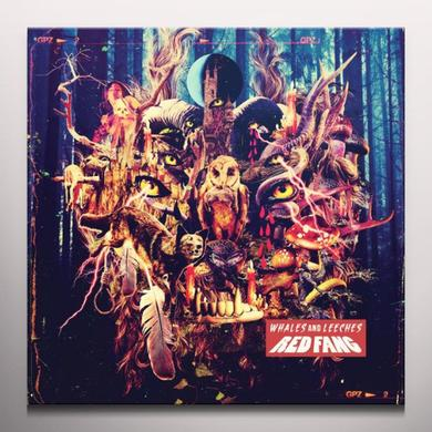 Red Fang WHALES & LEECHES Vinyl Record - Colored Vinyl, Limited Edition, Deluxe Edition
