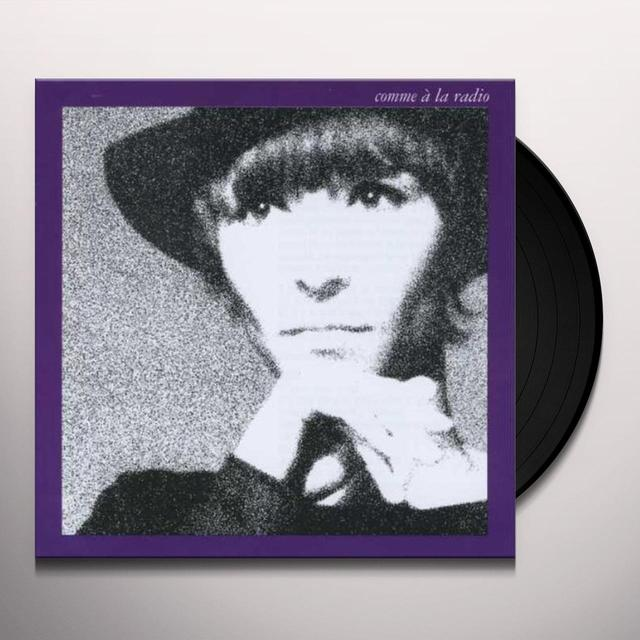 Brigitte Fontaine COMME A LA RADIO Vinyl Record - Reissue