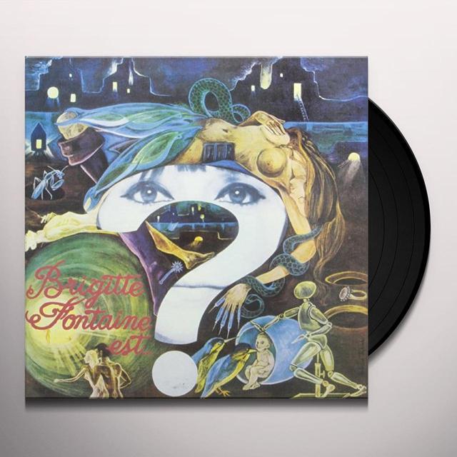 BRIGITTE FONTAINE EST FOLLE Vinyl Record