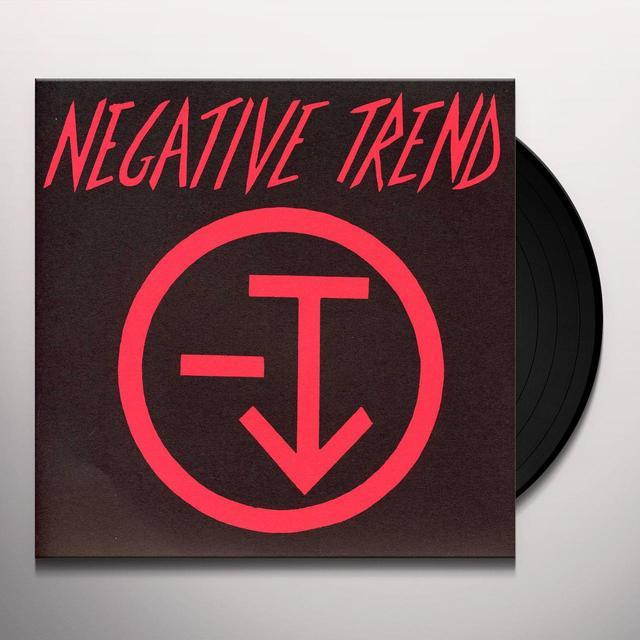 NEGATIVE TREND  (EP) Vinyl Record - Reissue