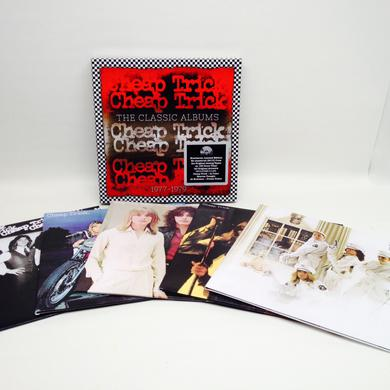 Cheap Trick CLASSIC ALBUMS 1977-1979 Vinyl Record